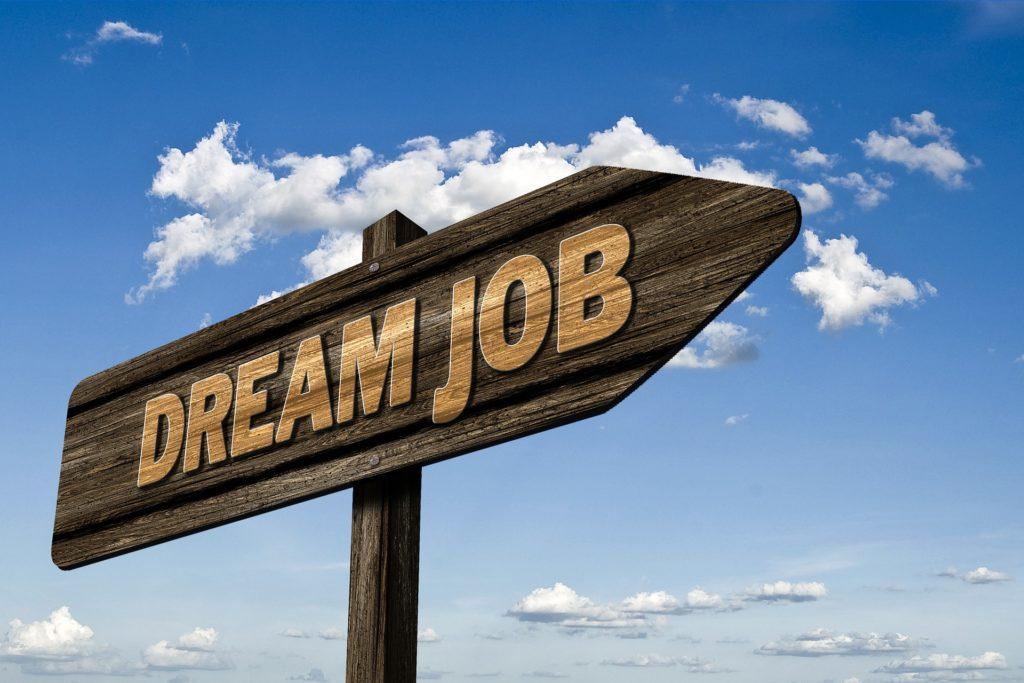 Panneau Dream Job